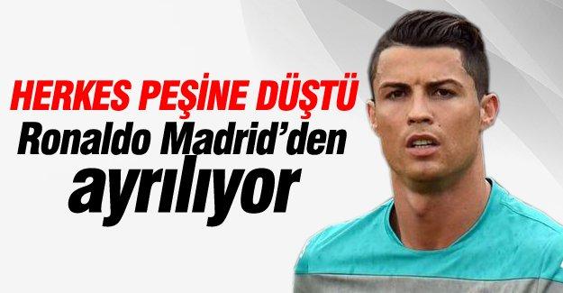Herkes Ronaldo'nun peşine düştü