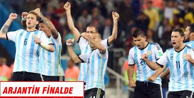 Hollanda:2 - Arjantin:4