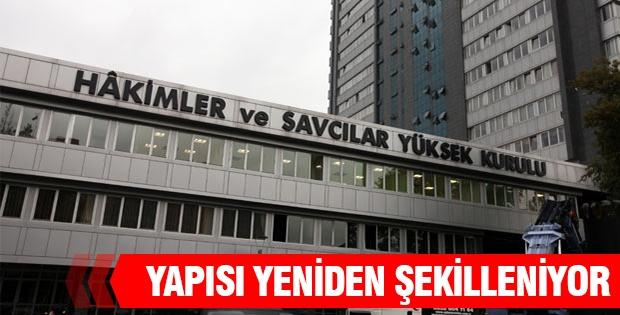 HSYK YAPISI YENİDEN ŞEKİLLENİYOR