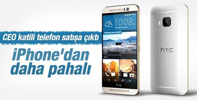 HTC One M9 Türkiye'de satışta