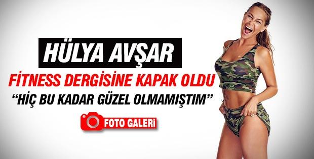 Hülya Avşar Fitness dergisine kapak oldu