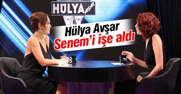 Hülya Avşar Senem'i işe aldı