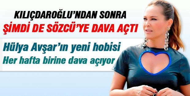 Hülya Avşar şimdi de  Sözcü'ye dava açtı!