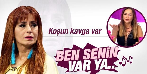 Hülya Avşar'a Tilbe tepki gösterdi