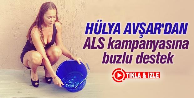 Hülya Avşar'dan ALS kampanyasına destek