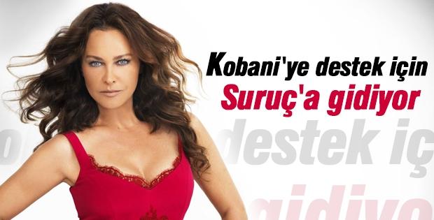 Hülya Avşar'dan Kobani'ye destek
