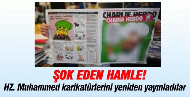 HZ. Muhammed karikatürlerini yeniden yayınladılar