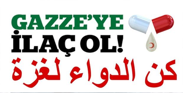 İHH'dan Gazze'ye büyük ilaç yardımı