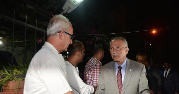 İhsanoğlu'ndan Göğebakan Ailesine Taziye Ziyareti