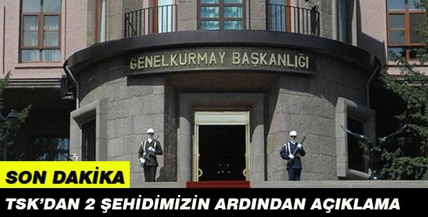 İki askerimizi şehit eden PKK/PYD'li terörist öldürüldü