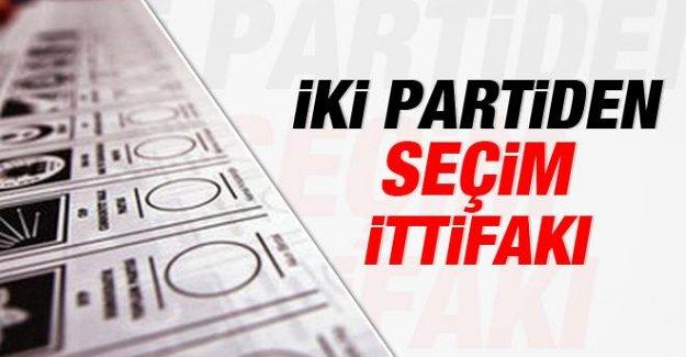 İki Parti Seçim İttifakı yapıyor