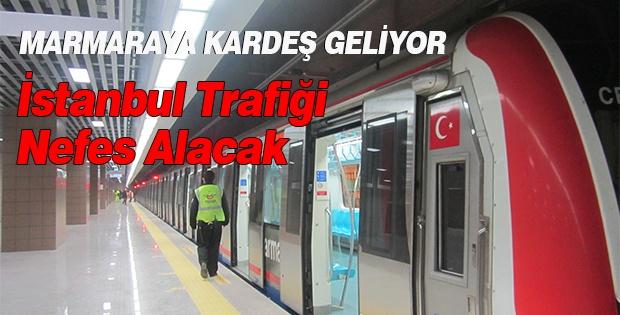 İkinci Marmaray Yolda