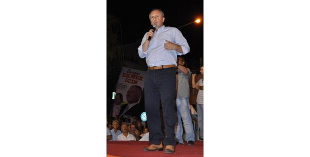 İnce: Ekmeleddin İhsanoğlu'na Baştan Bende İtiraz Ettim
