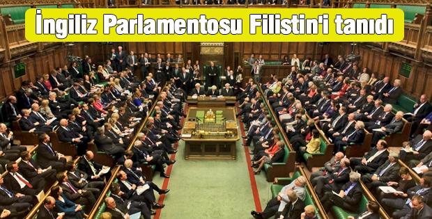 İngiliz Parlamentosu Filistin'i Tanıdı