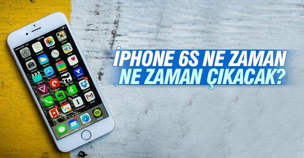 iPhone 6s ne zaman ne zaman çıkacak?