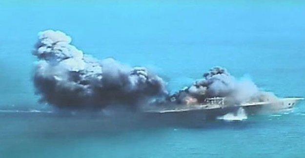 İran Amerikan uçak gemisini hedef aldı