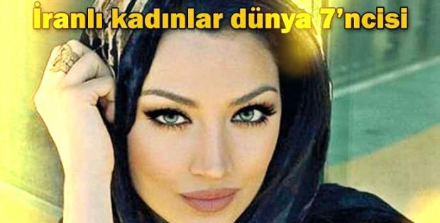 İranlı kadınlar dünya 7'ncisi