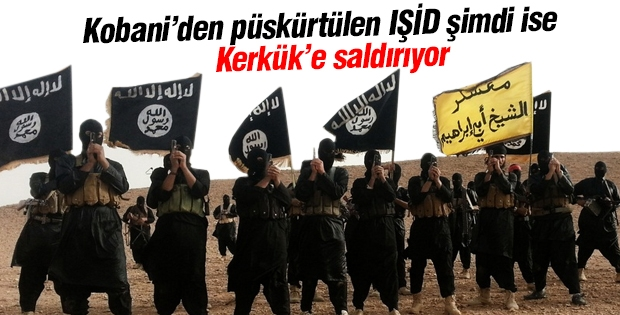IŞİD Kerkük'e saldırıyor