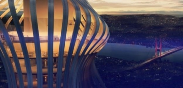 İstanbul'a 365 metrelik dev kule