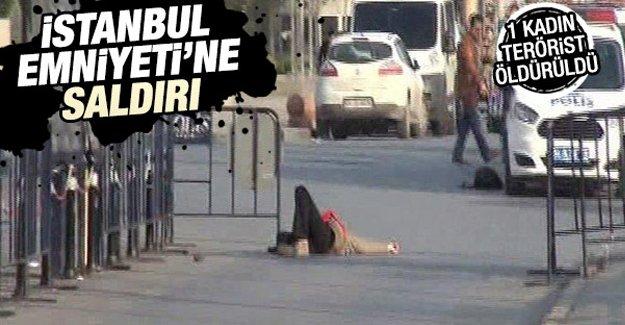 İstanbul Emniyet Müdürlüğü'ne saldırı düzenlendi