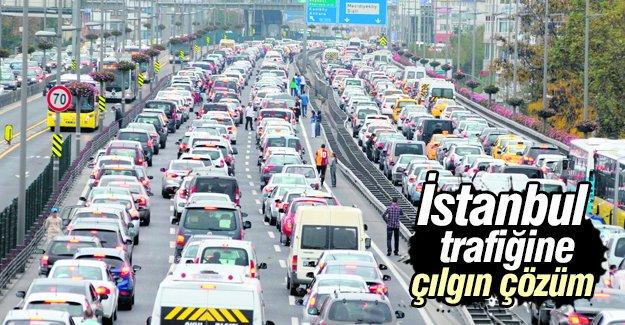 İstanbul trafiğine çılgın çözüm!