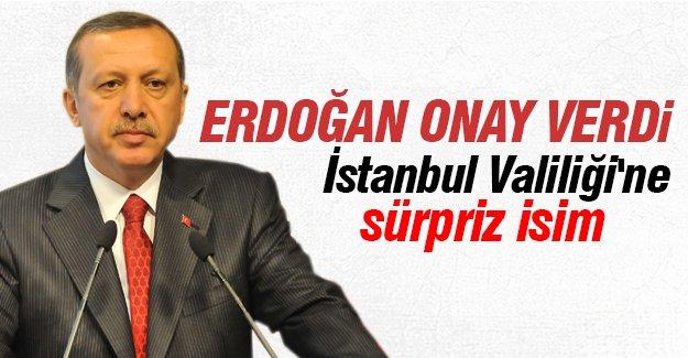 İstanbul Valiliği'ne sürpriz isim