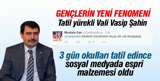 İstanbul Valisi Vasip Şahin twitter fenomeni oldu!