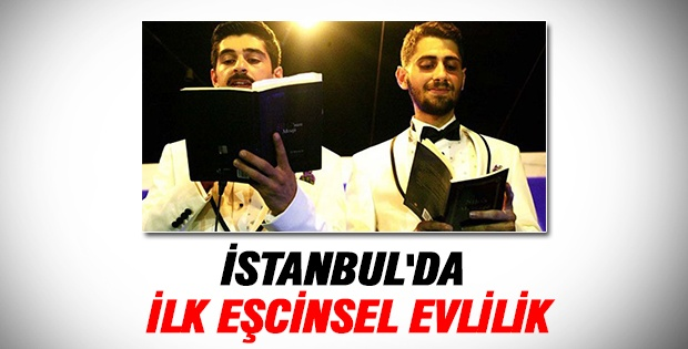 İstanbul'da ilk eşcinsel evlilik
