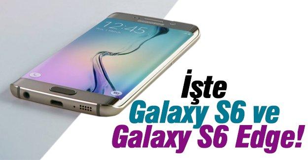 İşte Galaxy S6 ve Galaxy S6 Edge!