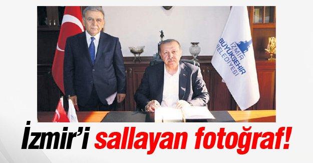 İzmir'i sallayan fotoğraf!