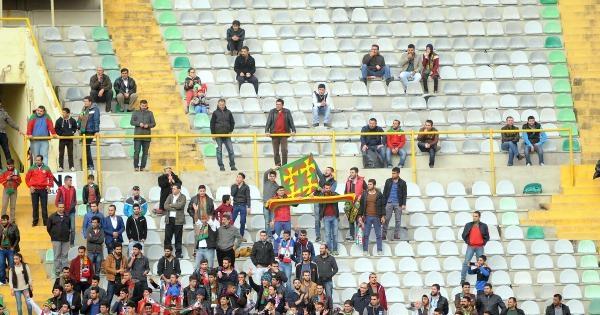 Altay- Diyarbakır maçında PKK gerginliği