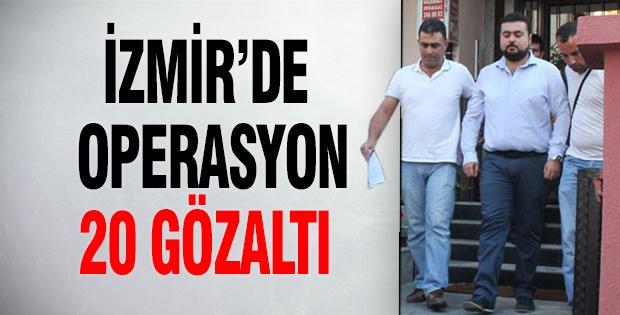 İzmir'de yasa dışı dinleme operasyonu