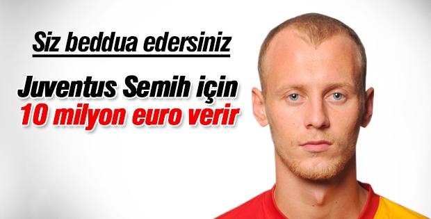 Juventus Semih Kaya'yı 10 milyon euro karşılığında istedi