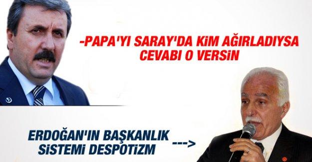 Kamalak: Başkanlık Sistemi Despotizmdir