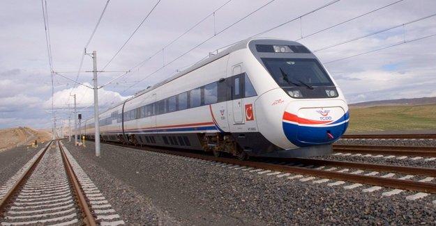 Karadeniz'e hızlı tren geliyor!