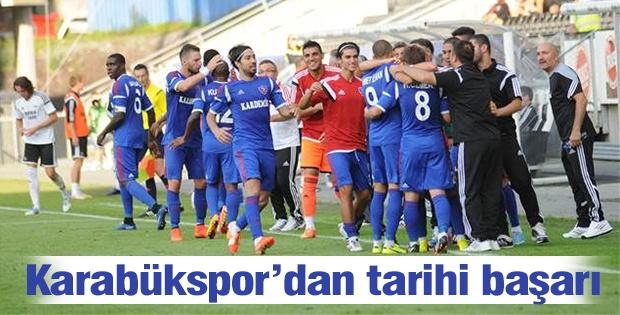 Kardemir Karabükspor play-off turuna yükseldi