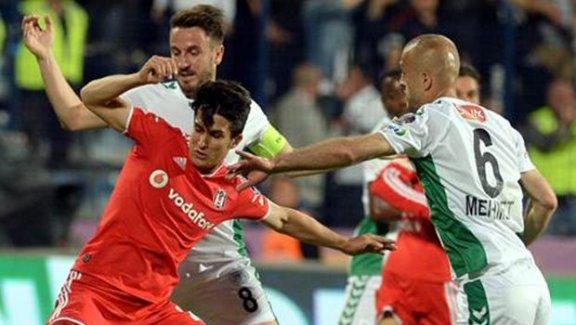 Beşiktaş şampiyonluk hayaline veda etti
