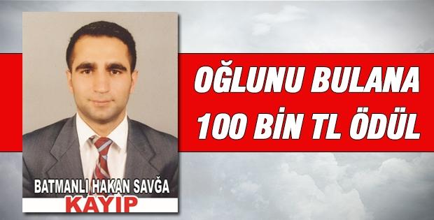 Kayıp Oğlunu Bulana 100 Bin TL Ödül