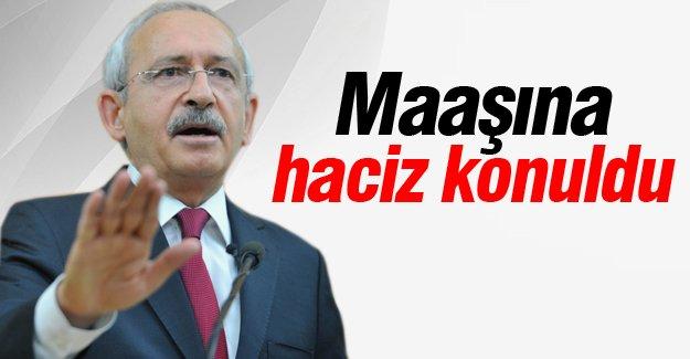 Kemal Kılıçdaroğlu icraya verildi