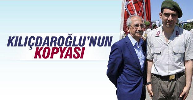 Kemal Kılıçdaroğlu'na benzeyen adam