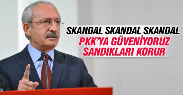 Kemal Kılıçdaroğlu'ndan seçim güvenliğiyle ilgili şok açıklama
