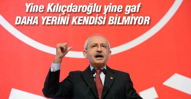 Kemal Kılıçdaroğlu vaat ettiği şehrin yerini kendisi de bilmiyor