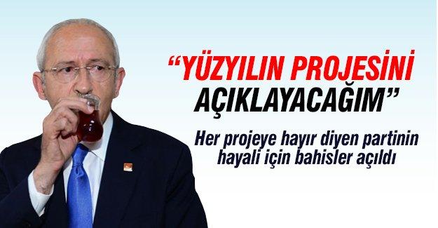 Kemal Kılıçdaroğlu yüzyılın projesini açıklayacak