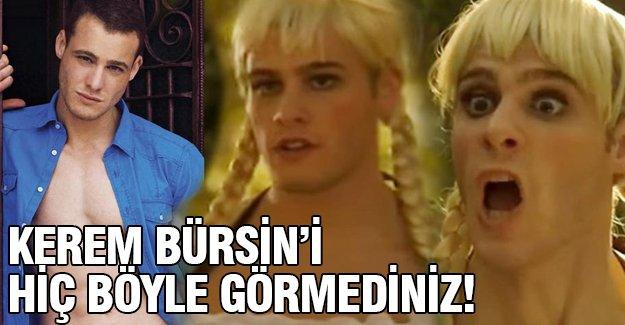 Kerem Bürsin'i hiç böyle görmediniz!