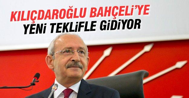 Kılıçdaroğlu Bahçeli'ye yeni teklif hazırladı