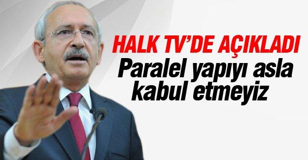 Kılıçdaroğlu, Halk TV'de açıkladı