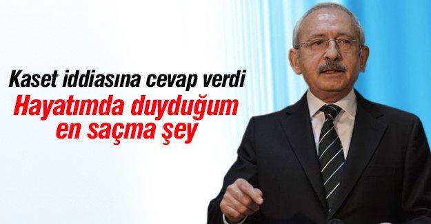 Kılıçdaroğlu kaset iddialarına cevap verdi