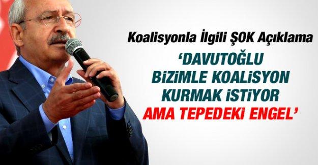 Kılıçdaroğlu'ndan koalisyon için flaş açıklama