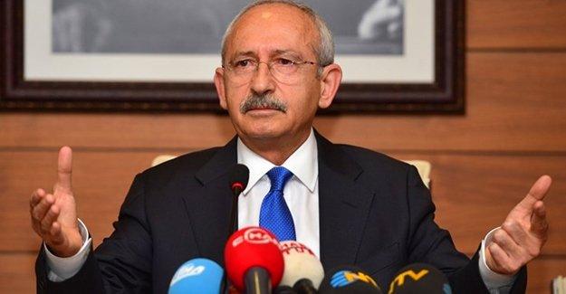 Kılıçdaroğlu: Soruşturma açan savcıyı kutlarım