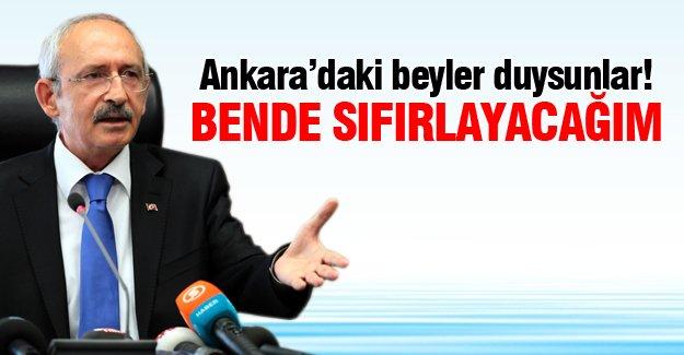 Kılıçdaroğlu:Ben de mazotta sıfırlayacağım